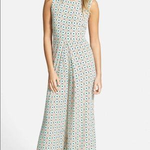 Oat and Fawn Large 70's vibe Wide leg jumpsuit